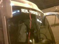 Arrivée du bus madrilène