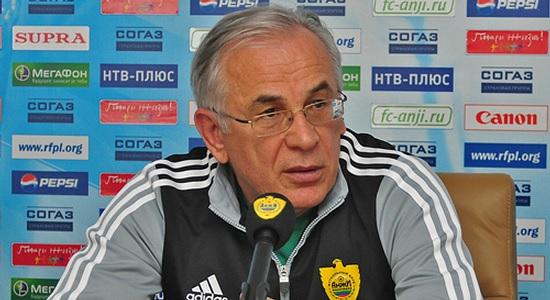 Troisième expérience en tant que coach de l'Anzhi pour Gadzhi Gadzhiev