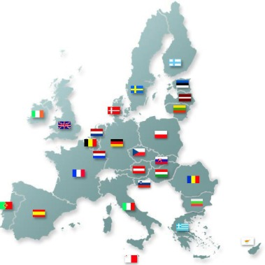 Etats membres de l'UE - Source : http://ec.europa.eu/agriculture/rur/leaderplus/memberstates/index_fr.htm