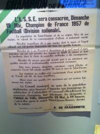 Premier titre de Champion de France, en 1957