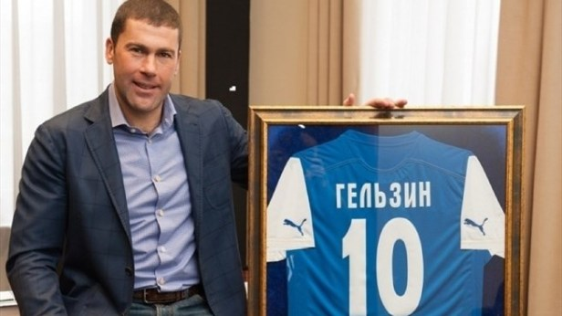 Vladyslav Gelzin, président/joueur de Olimpik - Source [5]