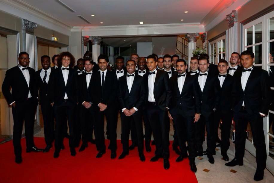 Photo de Gala du PSG 2014/2015 - Source Le Parisien