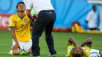 Thiago Silva en pleurs - Source [4]