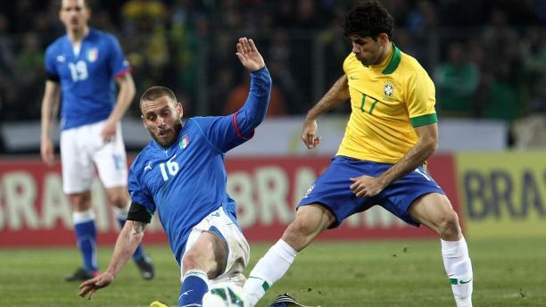 Diego Costa avec le Brésil - Source [8]