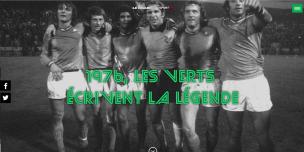 Une du Figaro Sport sur l'épopée des Verts