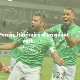 Une du Figaro Sport sur Loïc PERRIN