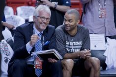 Jacques Monclar et Tony Parker - Source [8]