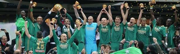 Victoire en coupe de la ligue 2013 - Source [6]