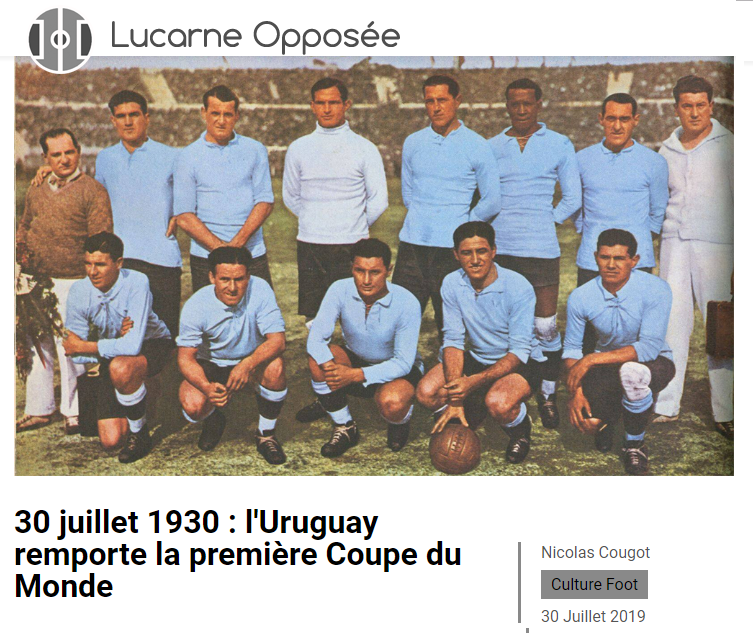 Exemple d'article Culture Foot LO