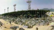 La tribune de Furiani 5 Mai 1992 - Source [9]