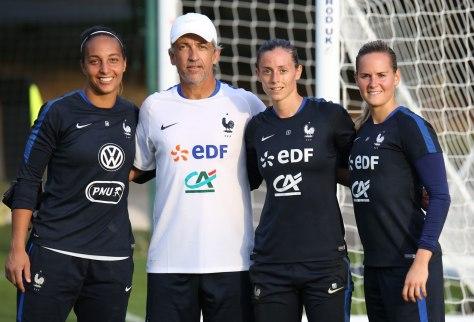 Valencony et l'équipe de France féminine