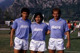 Maradona, Careca et Alemão. Source [4]